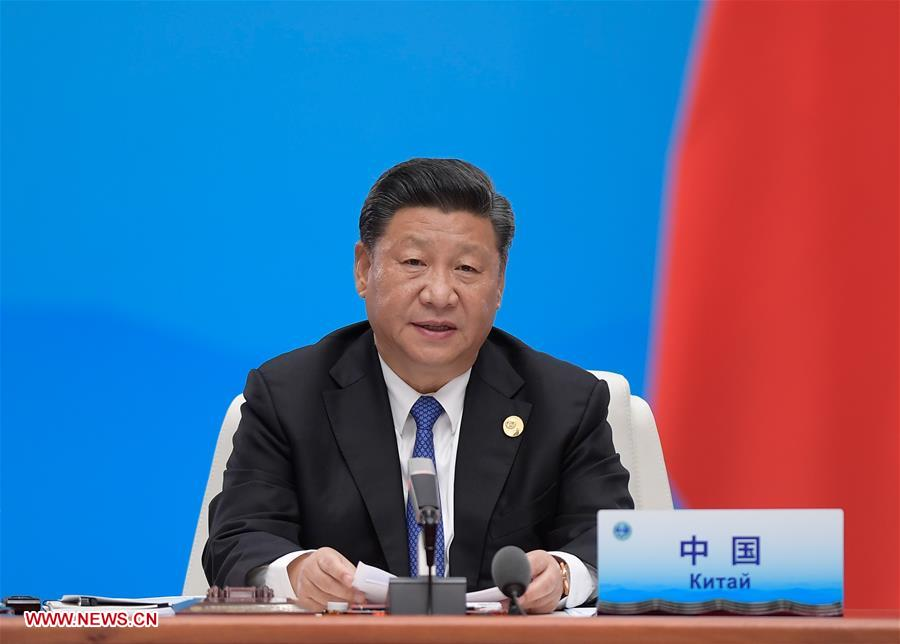 Xi's Keynote Speech at SCO Qingdao Summit Receives Worldwid